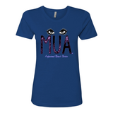 "Ladies' ""MUA"" Boyfriend Tee - KLH Collection"