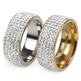 5 Row Stainless Steel Ring - KLH Collection