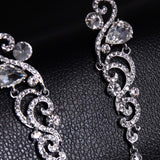 Swann Rhinestone Earrings: 4 colors - KLH Collection