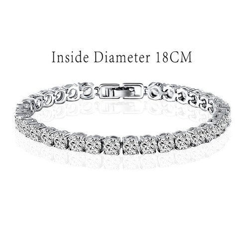 Zircon Single Strand Bracelet - KLH Collection