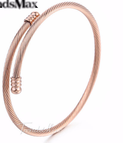 Twisted Rope Bracelet - KLH Collection