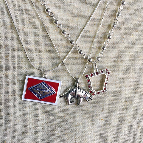 The New Arkansas Trio Necklace