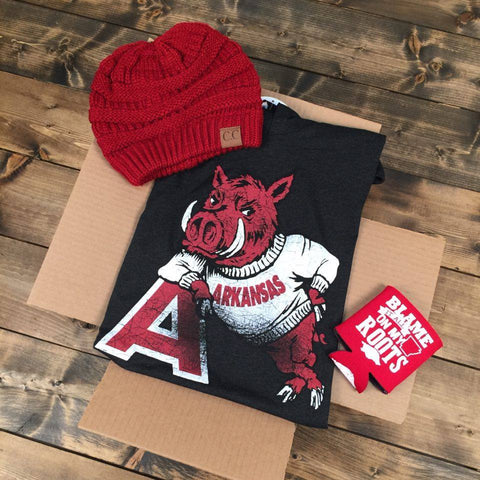 Gameday Gift Box - Hog Leaning On 'A' - Sweat Shirt