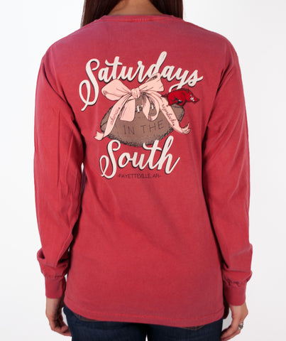 Saturday's In The South - Long Sleeve