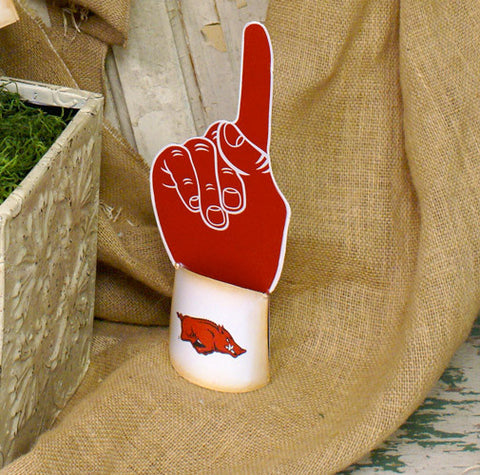 Arkansas #1 Fan Garden Stake - Small