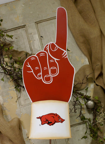 Arkansas #1 Fan Garden Stake - Large