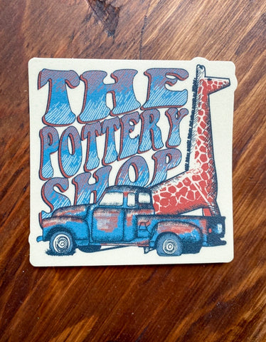 The Pottery Shop Sticker