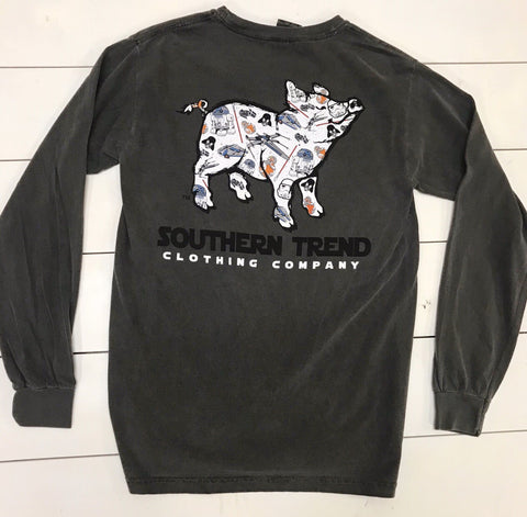 Galaxy Pig - Long sleeve
