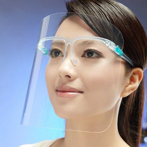 Glasses Frame Base Lightweight, Easy-to-wear Full Face Shield