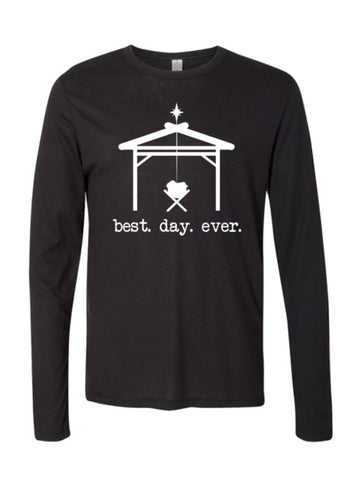 Best Day Ever T Shirt - Black