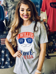 I Willie Love The USA!