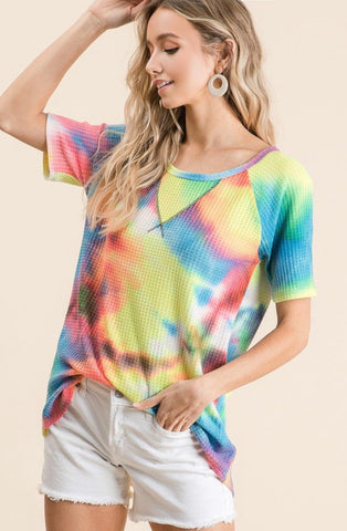 Keep The Vibe  Multi Tie Dye