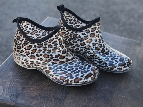 Let it rain boots - Leopard