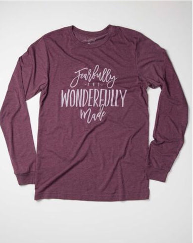 Fearfully and Wonderfully Made - Long Sleeve