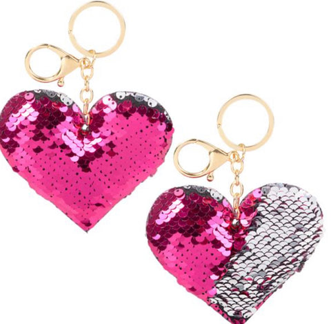 Follow your heart keychain