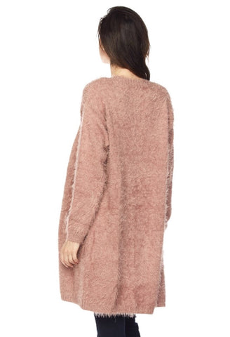 It's All You Need Cardigan - Mauve