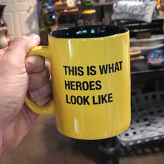 This is what heroes look like mug