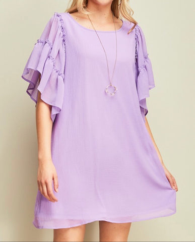 Perfect Love Lavender Dress