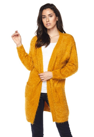 It's All You Need Cardigan - Mustard
