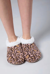 Leopard Slippers - Pink