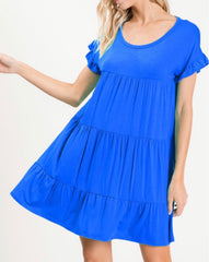 Royal Jersey Knit dress