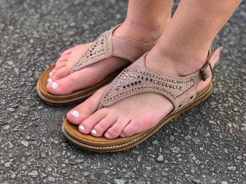 Summer Nights Sandals - Taupe
