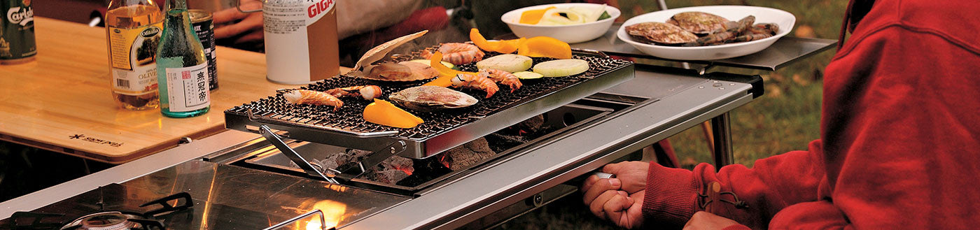 Cooking Grilling And Accessories Snow Peak - Compact grill containers
