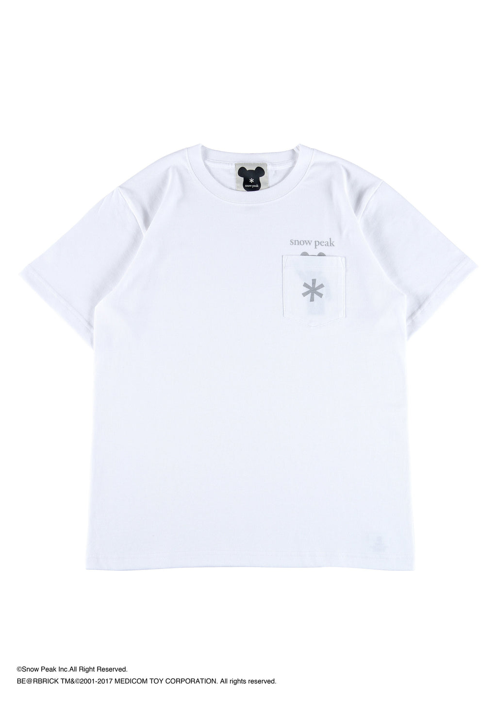 "BE@RBRICK Pocket Tee ""Logo"""