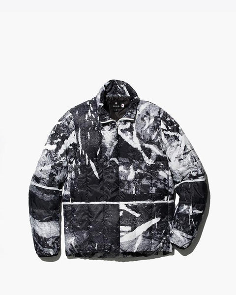 RY Printed Middle Down Jacket