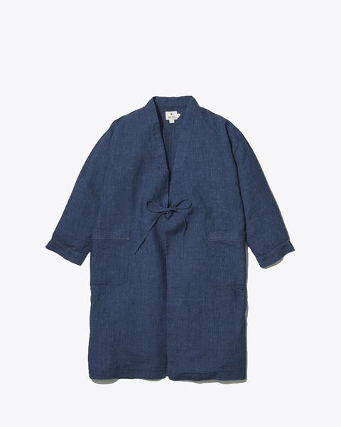 Indigo NORAGI Long Jacket
