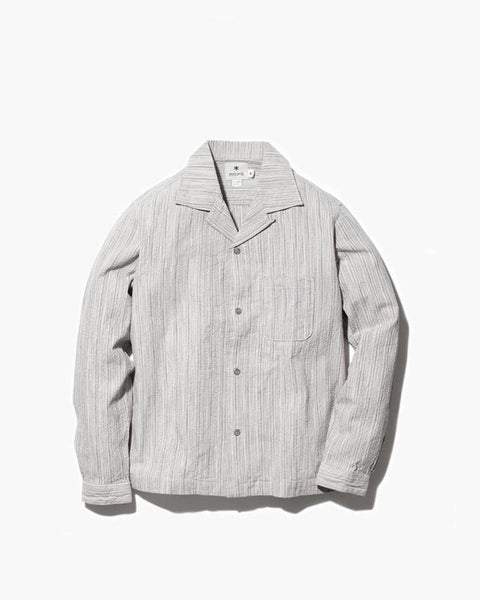 SHIJIRA Open Collar Shirt