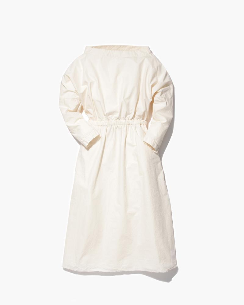 W's Organic Cotton Shirring Dress