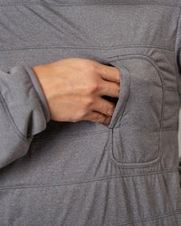 Flexible Insulated Pullover