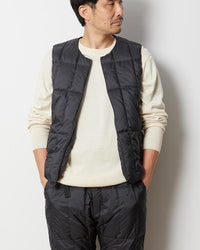 Recycled Middle Down Vest - Snow Peak