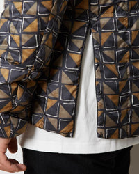 Printed Recycled Middle Down Jacket