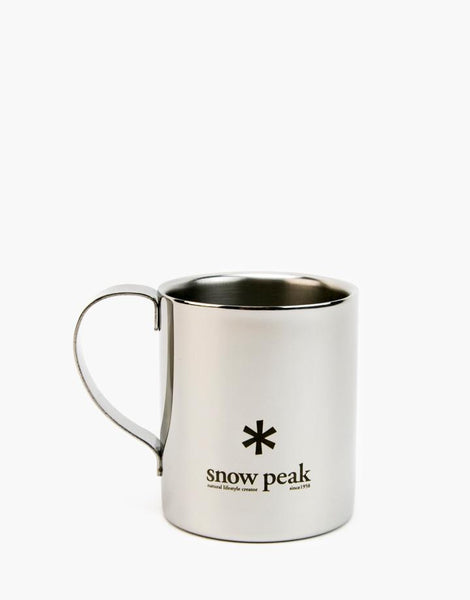 Stainless Double 240 Mug - Snow Peak