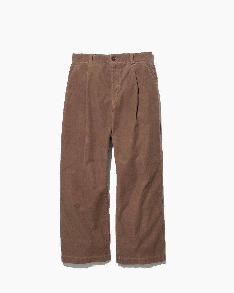 Organic Cotton Corduroy Wide Pants