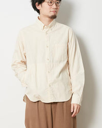 Ultimate Pima Poplyn Button Down Shirt - Snow Peak