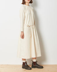 Ultimate Pima Poplyn Dress - Snow Peak