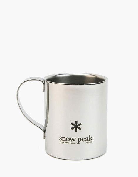 Stainless Double 330 Mug - Snow Peak