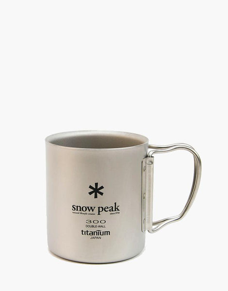 Snow Peak - Ti-Double 300 Mug FH - 1