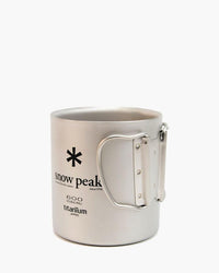 Snow Peak - Ti-Double 600 Mug - 2