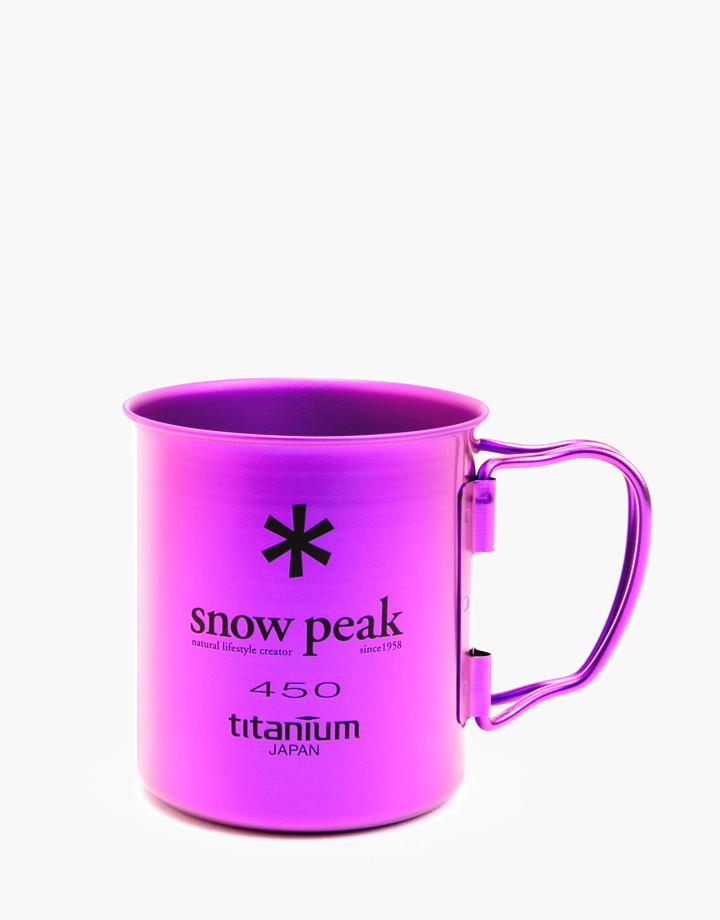 Snow Peak - Ti-Single 450 Colored Cups - 3