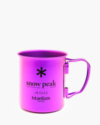 Snow Peak - Ti-Single 450 Colored Cups - Purple