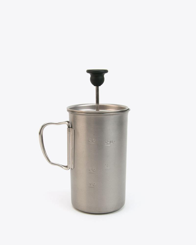 Snow Peak - Titanium French Press - 1
