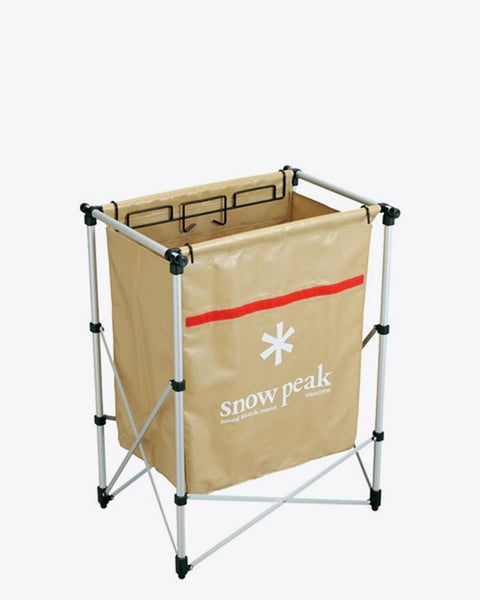 Snow Peak - Rubbish Bin with Stand