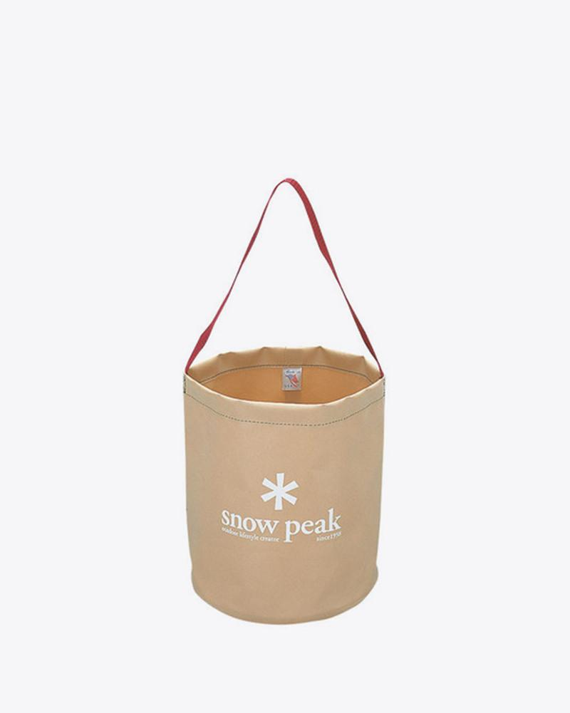 Snow Peak - Camping Bucket Regular