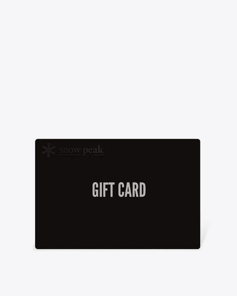 Gift Card - Snow Peak