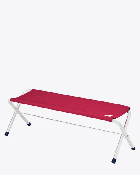 Snow Peak - Folding Red Bench