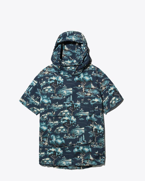 Printed Swim Parka